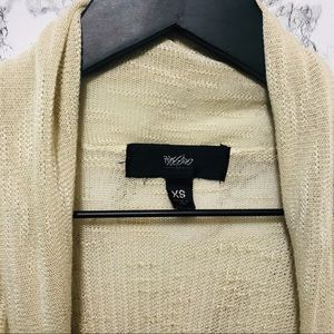 Mossimo Supply Co. Sweaters - Mossimo Short Sleeve Cardigan Beige XS